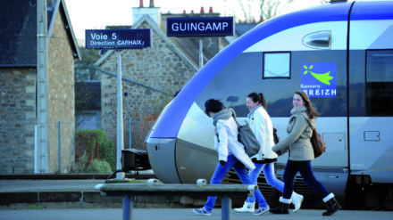 transdev, train, rail, ferroviaire,carhaix,guingamp,transdev,movilité