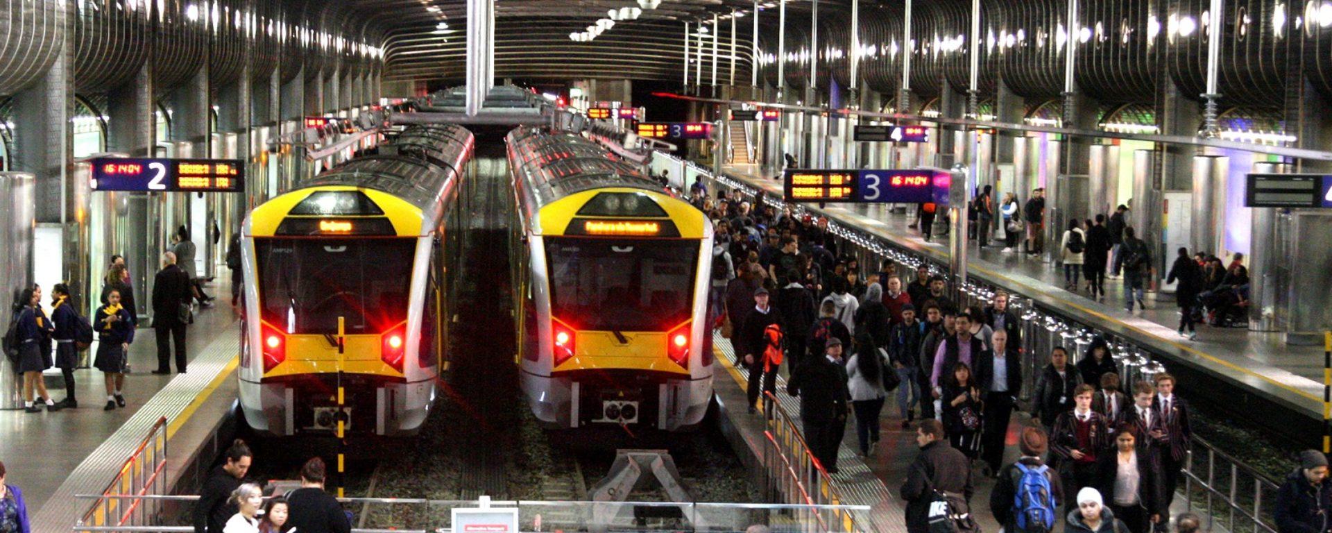 Transdev Group Auckland Train rail passengers passager mobility company